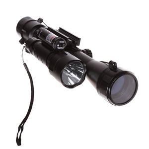 Rifle Scope 3-9 x 40mm c/w Red Dot Laser