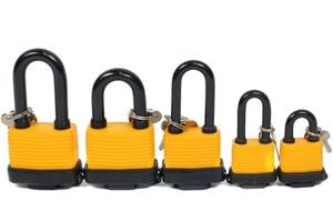 5 x STELA Waterproof Padlocks, Sizes: 40