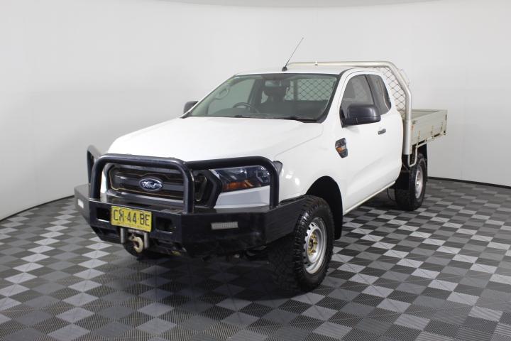 Ex-Gov 2016 Ford Ranger XL 4X4 PXII Turbo Diesel Manual Extra Cab 116,765km