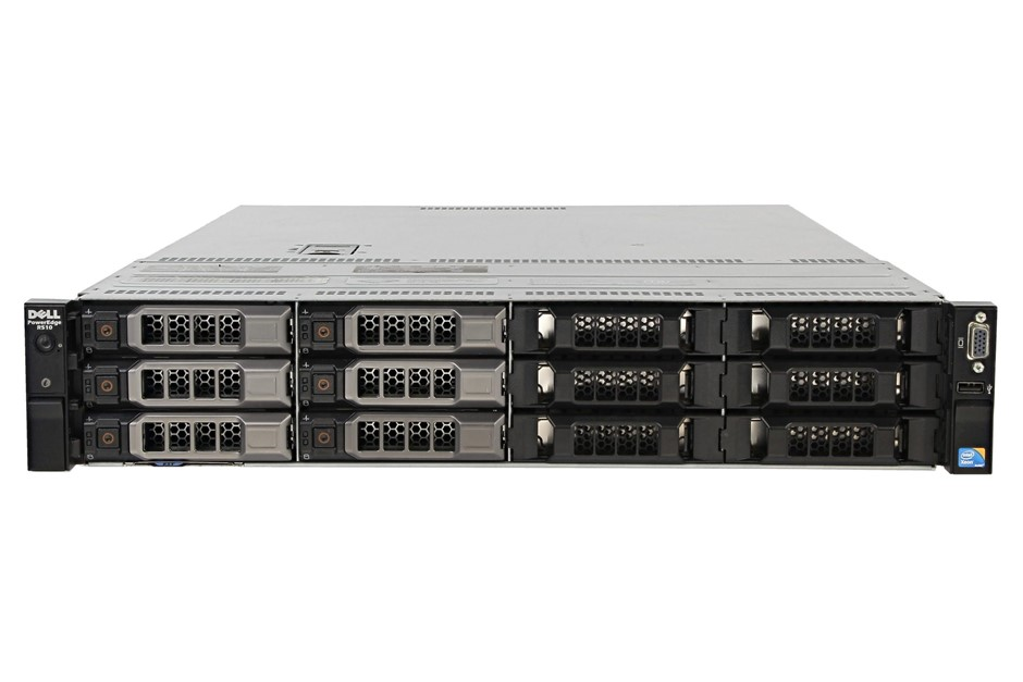 DELL R510 SERVER, 2x X5570, 128GB, 24 TB