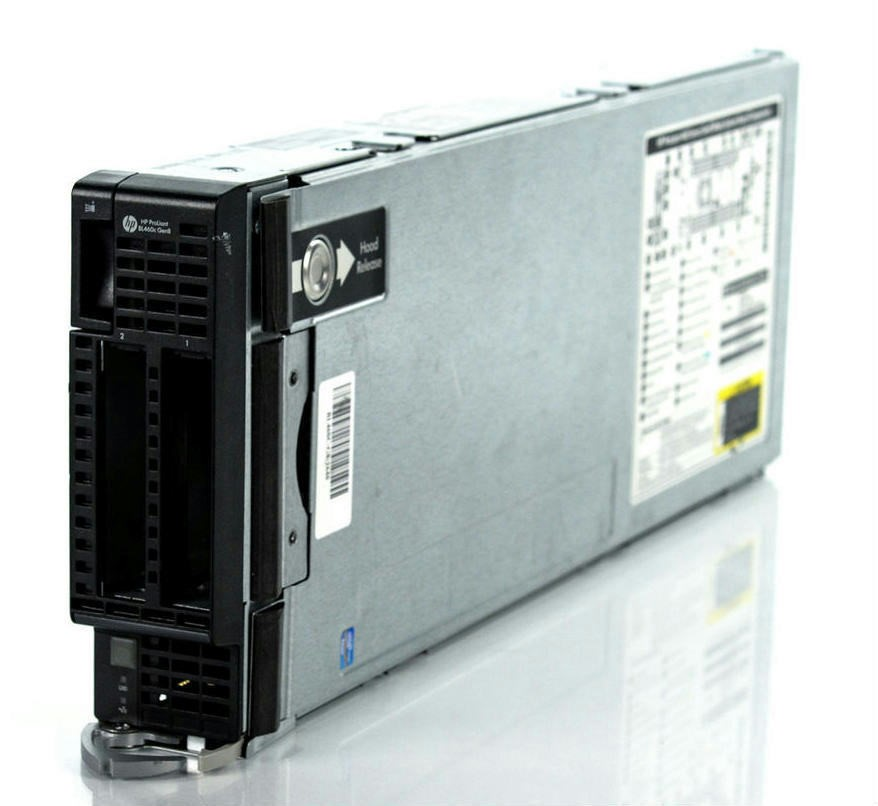 HP BL460c-Gen8 SERVER, 2x E5-2680, 256GB, 0.6 TB