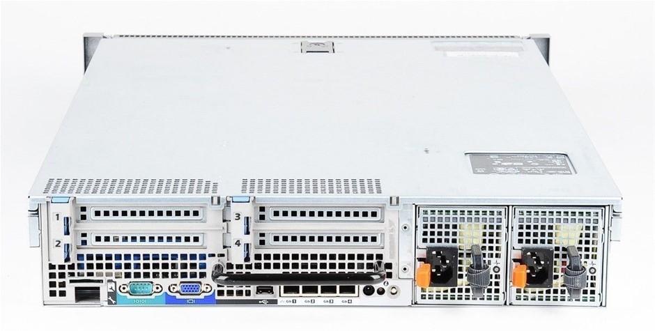 DELL R710 SERVER, 2x X5550, 288GB, 7.2 TB