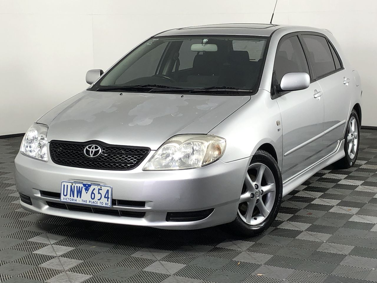 2002 Toyota Corolla Levin Seca ZZE123R Manual Hatchback