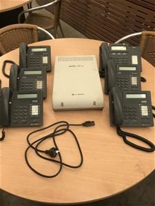 Aria phone system.