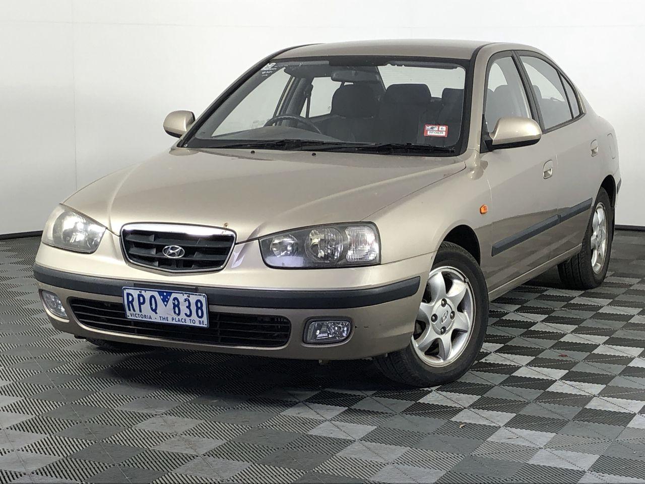 2002 Hyundai Elantra GLS XD Automatic Sedan