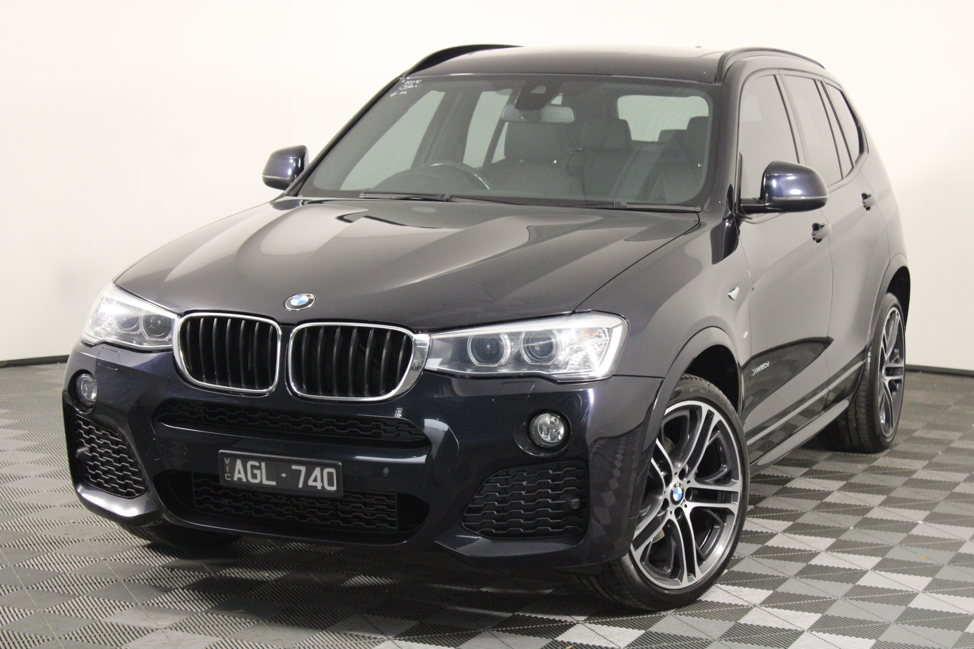 2016 BMW X3 xDrive 20d M Sport LCI Update F25 Turbo Diesel Automatic