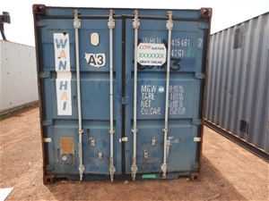 """40"""" Foot Shipping Container"""