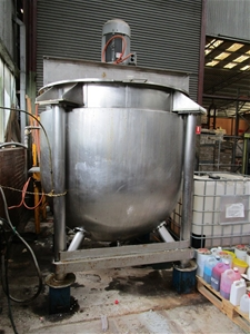 Stainless Steel Jacketed and Heated Homo