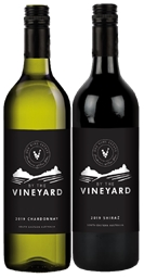 By The Vineyard Mixed Pack Shiraz & Chardonnay 2019 (12x 750mL). SEA.