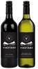 By The Vineyard Mixed Pack Shiraz & Sem Sauv Blanc 2019 (12x 750mL). SEA.