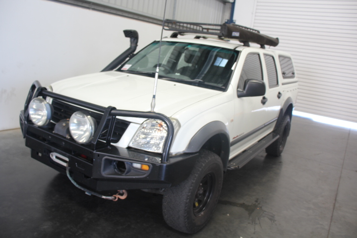 2003 Holden Rodeo LX 4WD RA Turbo Diesel Dual Cab