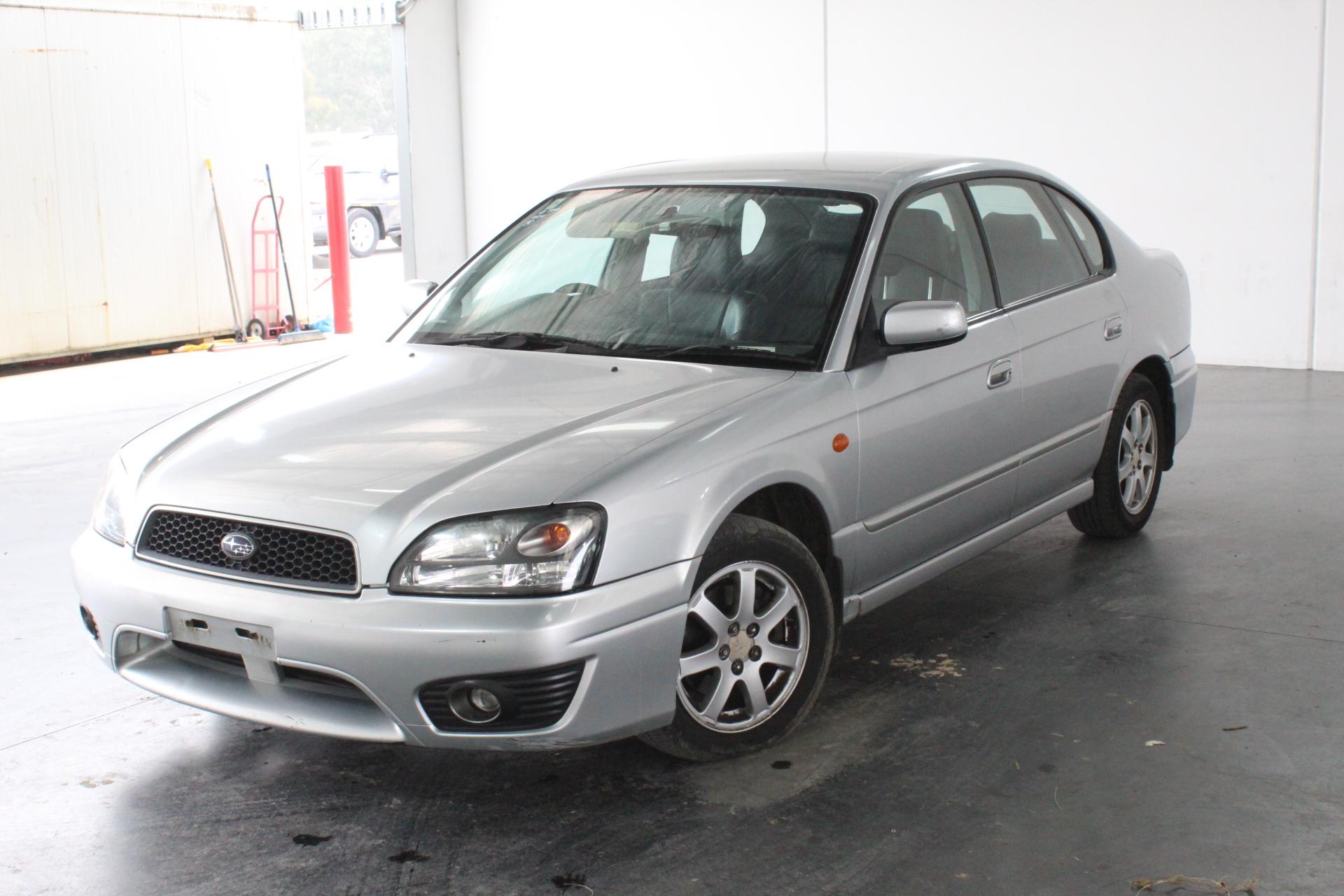 2003 Subaru Liberty GX (AWD) B3 Automatic Sedan