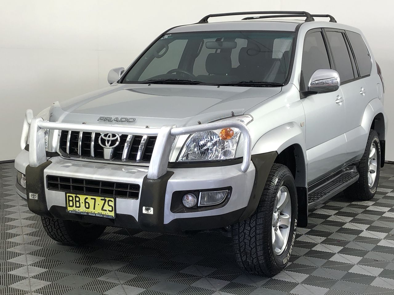 2003 Toyota Landcruiser Prado GXL (4x4) Turbo Diesel Manual 8 Seats