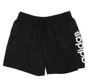 ADIDAS Men`s Shorts, Size L, Cotton/Poly