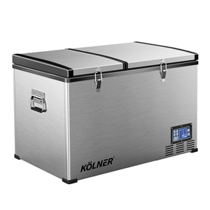 Kolner 80L Portable Fridge Freezer Coole