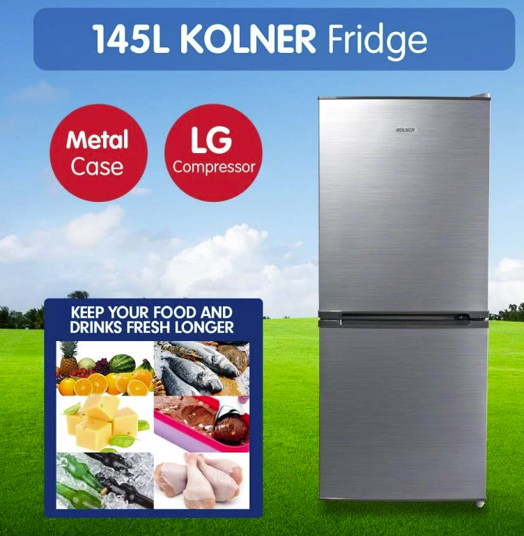Kolner 145L Portable Bar LG Compressor Portable Cooler Freezer
