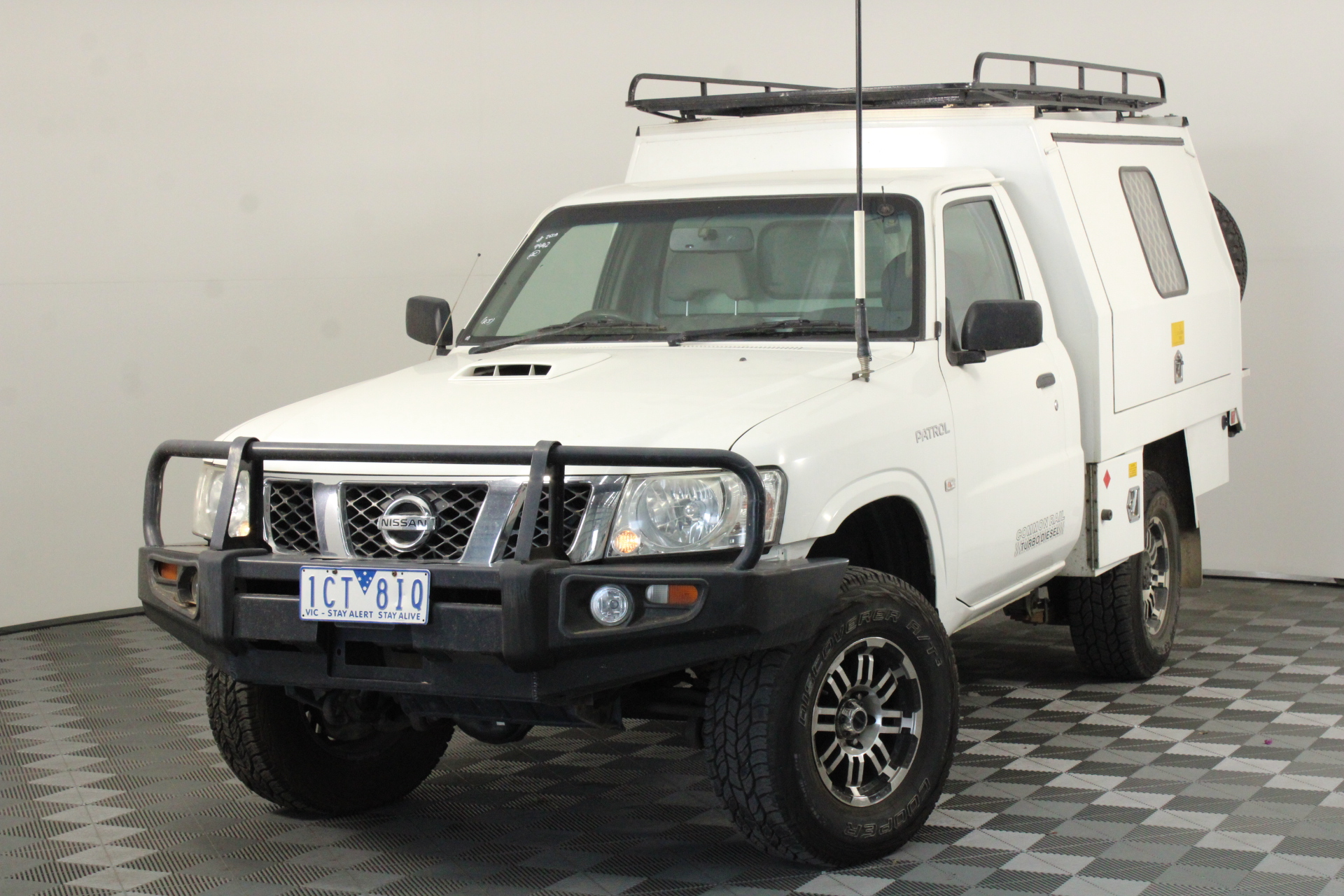 2009 Nissan Patrol DX (4x4) GU Turbo Diesel Manual Cab Chassis