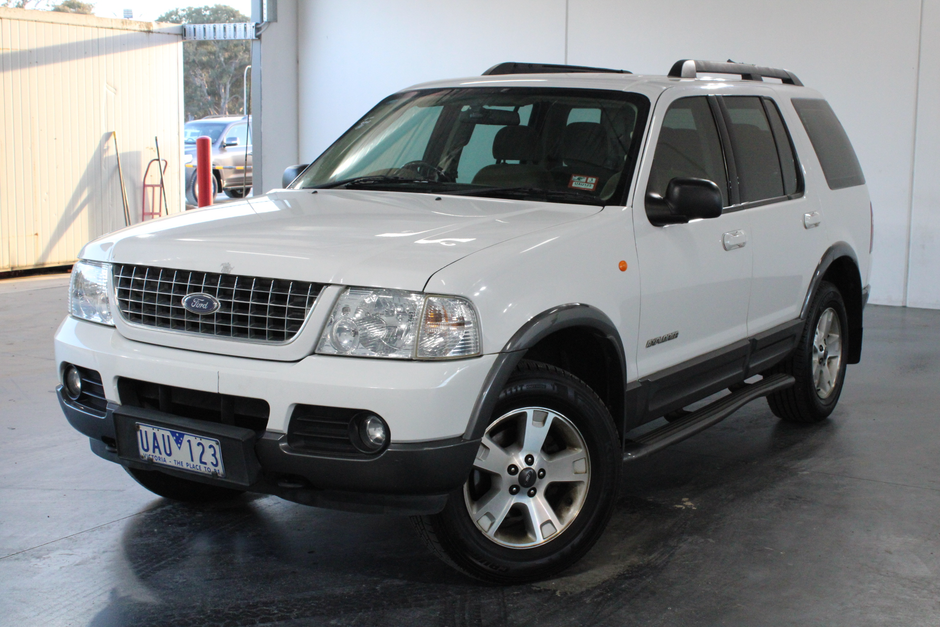 2004 Ford Explorer Limited (4x4) UZ Automatic 7 Seats Wagon