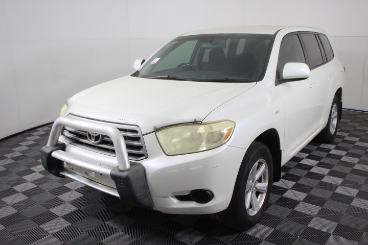 2008 Toyota Kluger 7 Seats