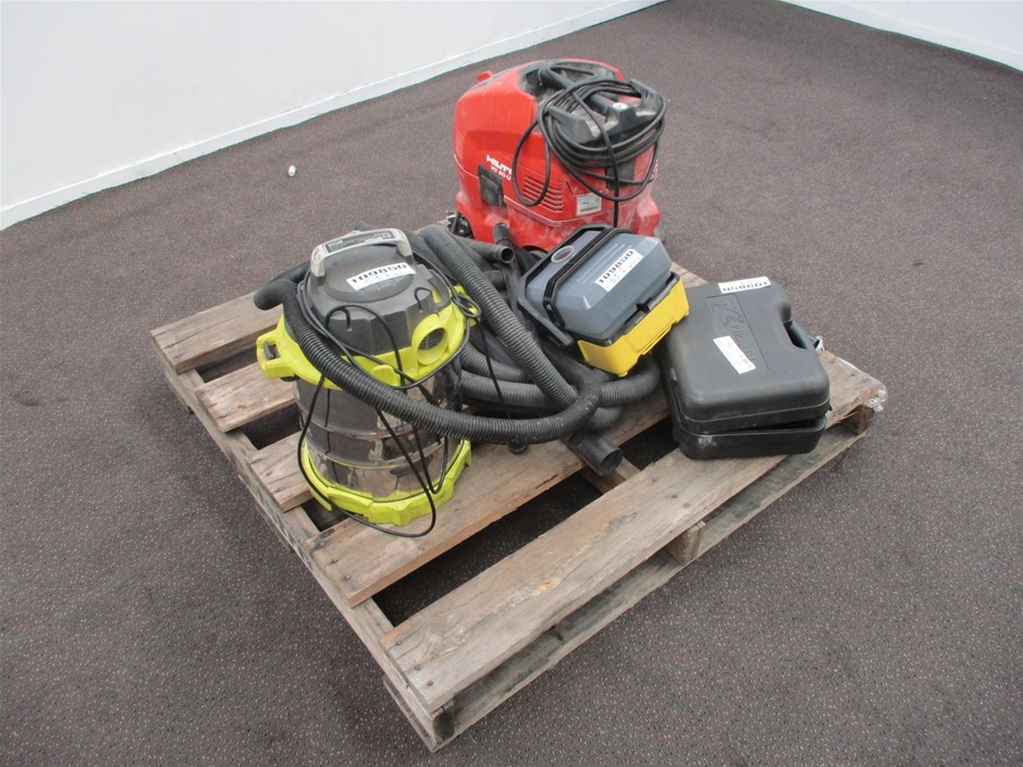 Qty 4 x Assorted Cleaning Equipment