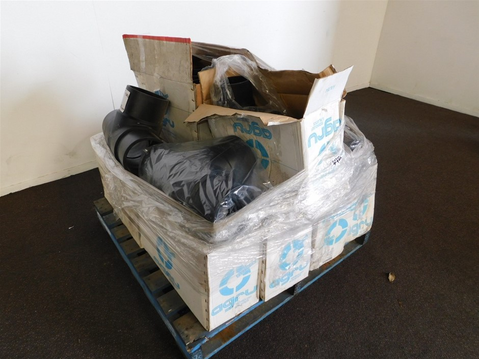 Agru Pallet of Assorted Pipe Fittings