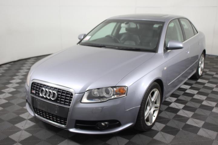 2005 (2006 Complied) Audi A4 3.2 FSI Quattro S-Line B7 Automatic Sedan