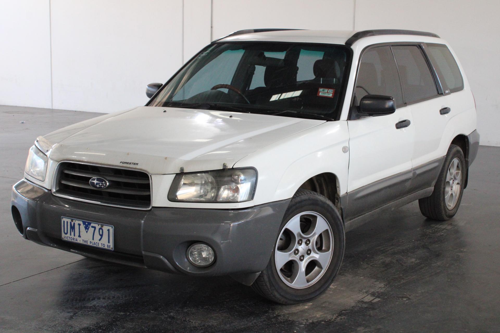 2003 Subaru Forester XS Automatic Wagon (WOVR)
