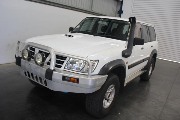 2003 Nissan Patrol ST (4x4) GU II Turbo Diesel Automatic 7 Seats Wagon
