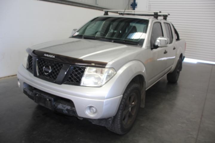 2008 Nissan Navara ST-X 4WD D40 Turbo Diesel Auto Dual Cab (WOVR)