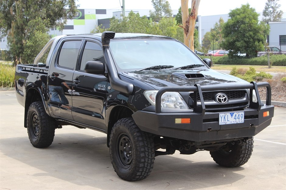 2008 Toyota Hilux SR Turbo Diesel 4x4 MY09 4WD Manual - 5 Speed Ute
