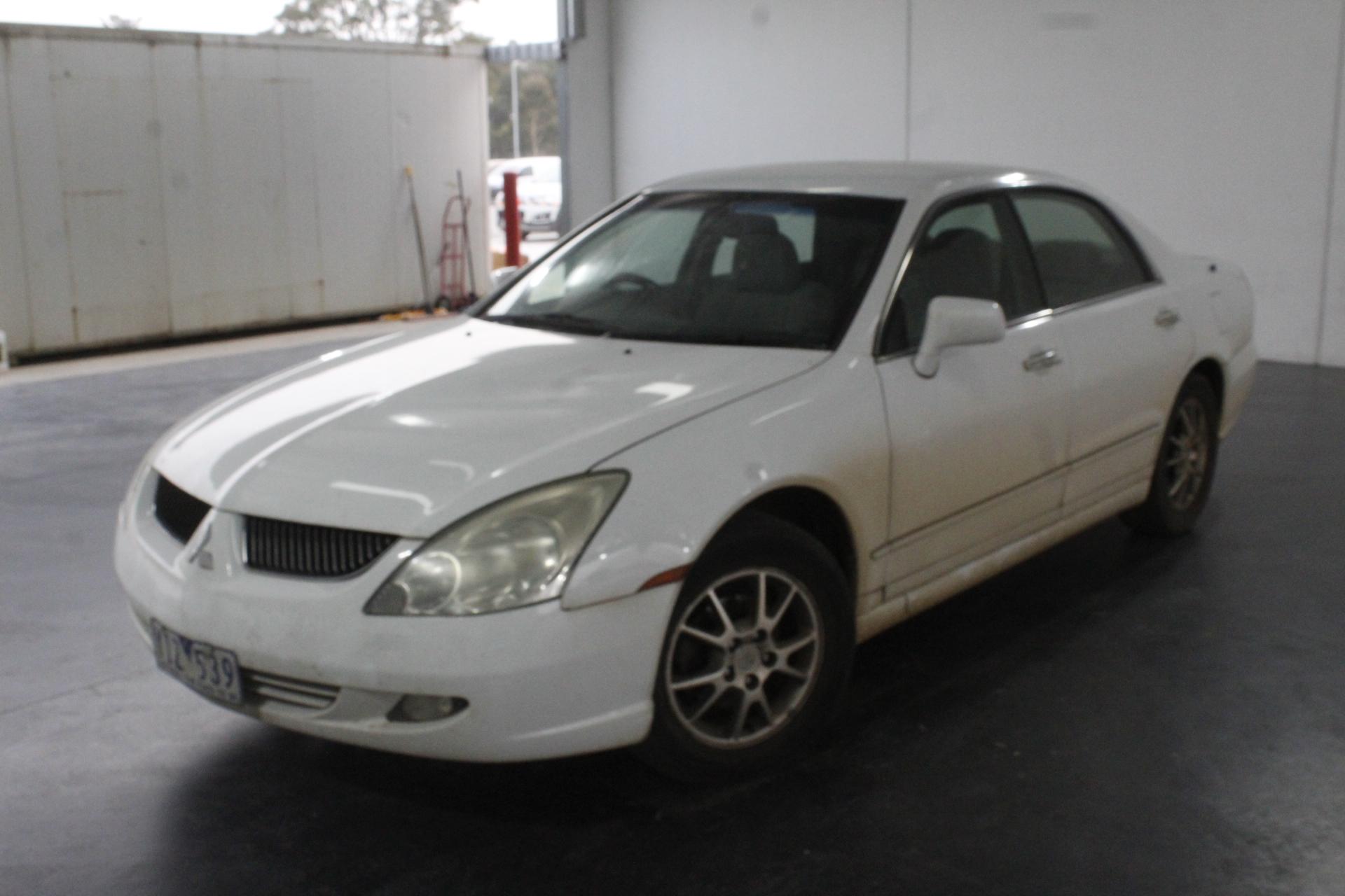 2003 Mitsubishi Verada Ei KL Automatic Sedan