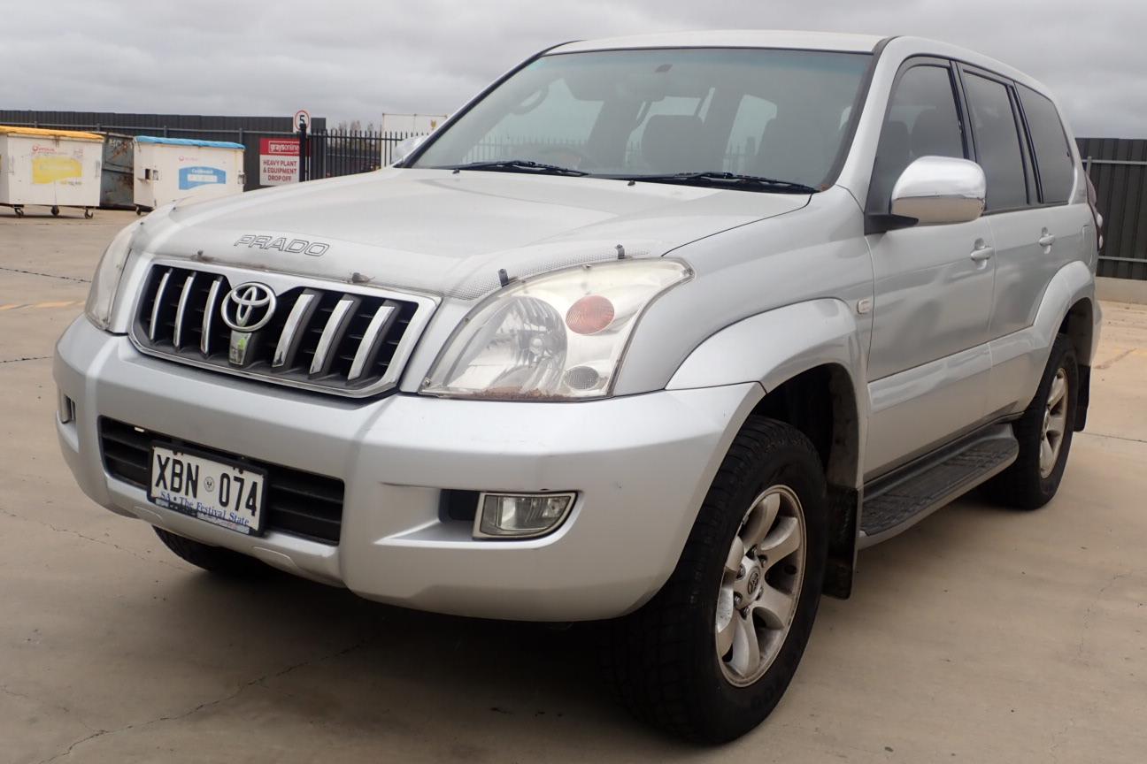 2004 Toyota Landcruiser Prado GXL (4x4) Automatic 7 Seats Wagon