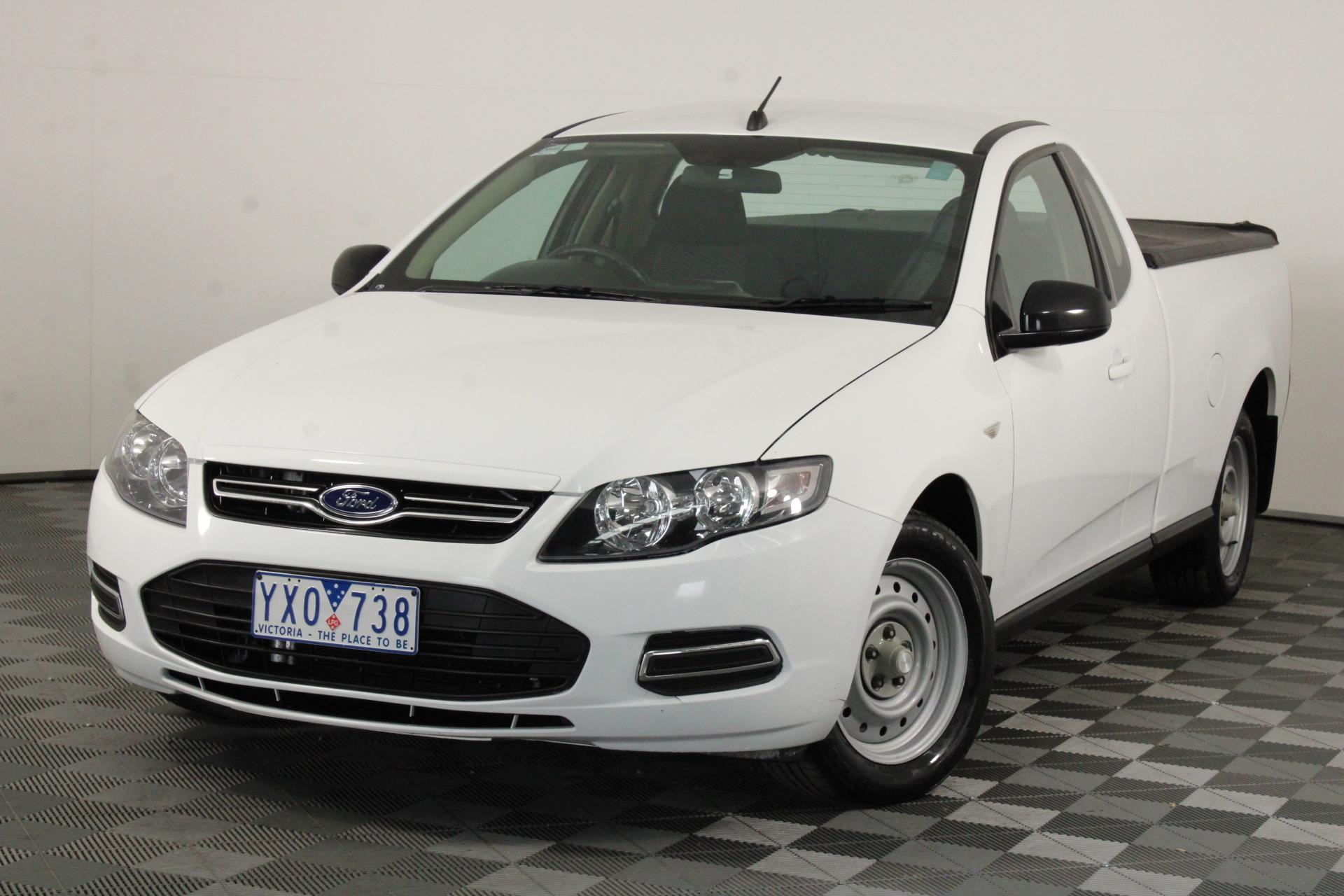 2012 Ford Falcon (LPI) FG II Automatic Ute (EX GOV)