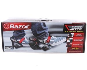 RAZOR Turbo JETTS Electric Heel Wheels.