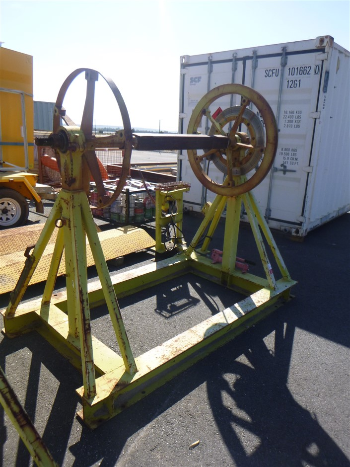 Hydraulic Braked Cable Reels