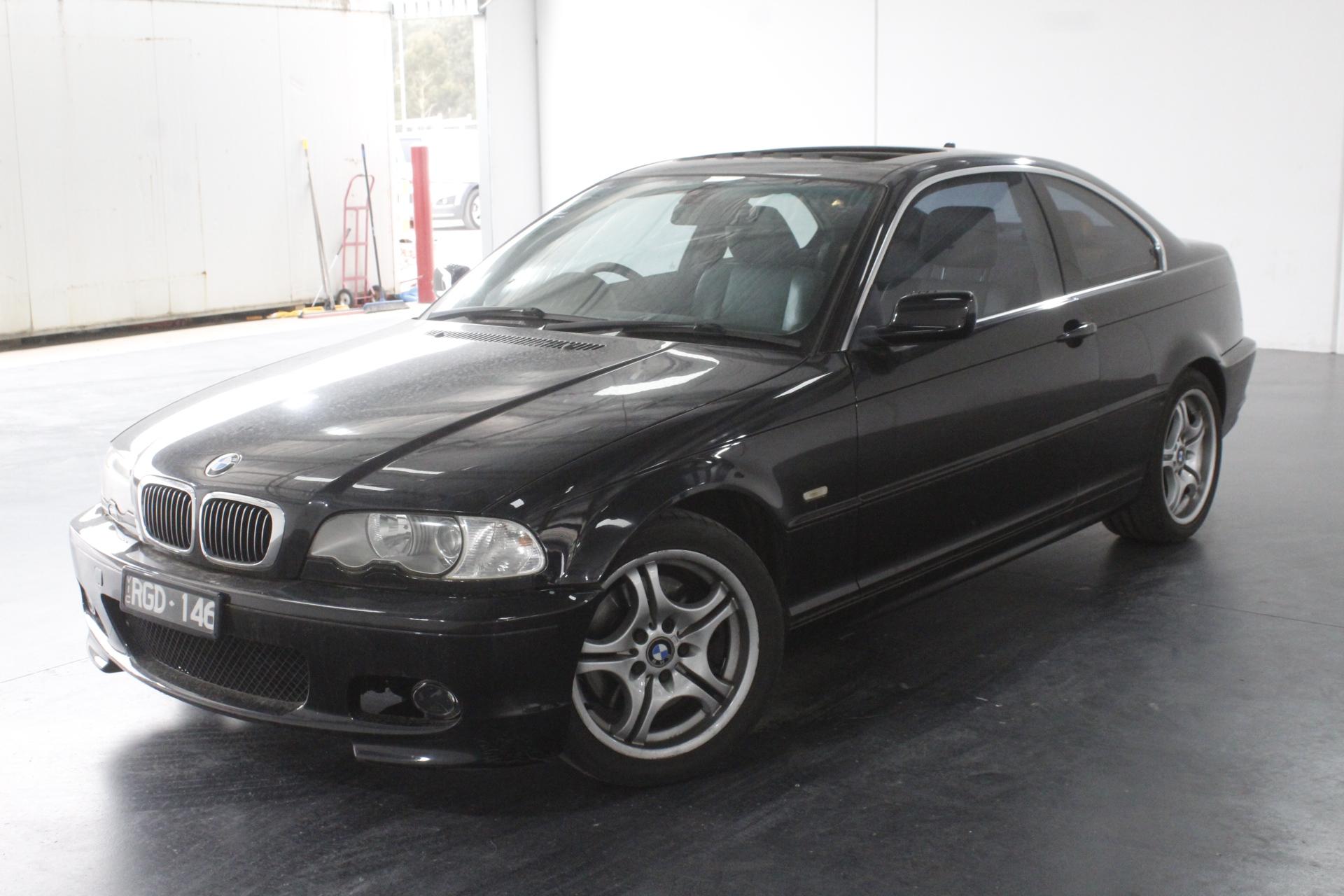 2002 BMW 3 30Ci E46 Automatic Coupe