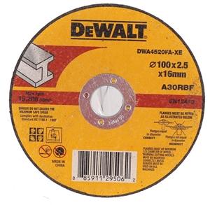 10 x DeWALT Metal Abrasive Cut-off Discs