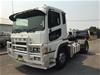 2010 Mitsubishi FP500 420HP 4 x 2 Prime Mover Truck