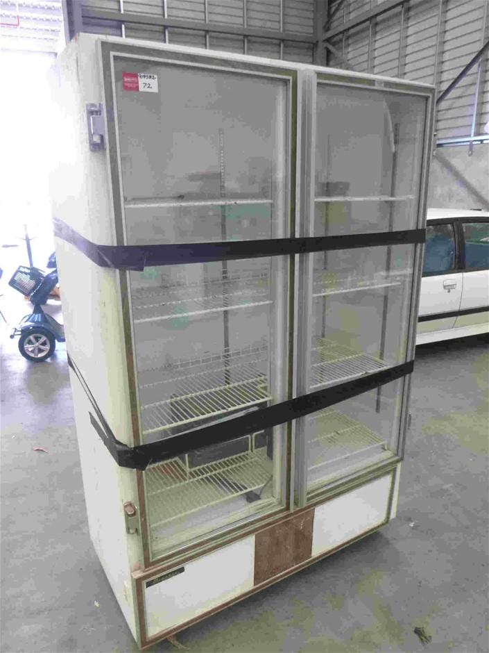 Commercial Fridge Double Glass Doors