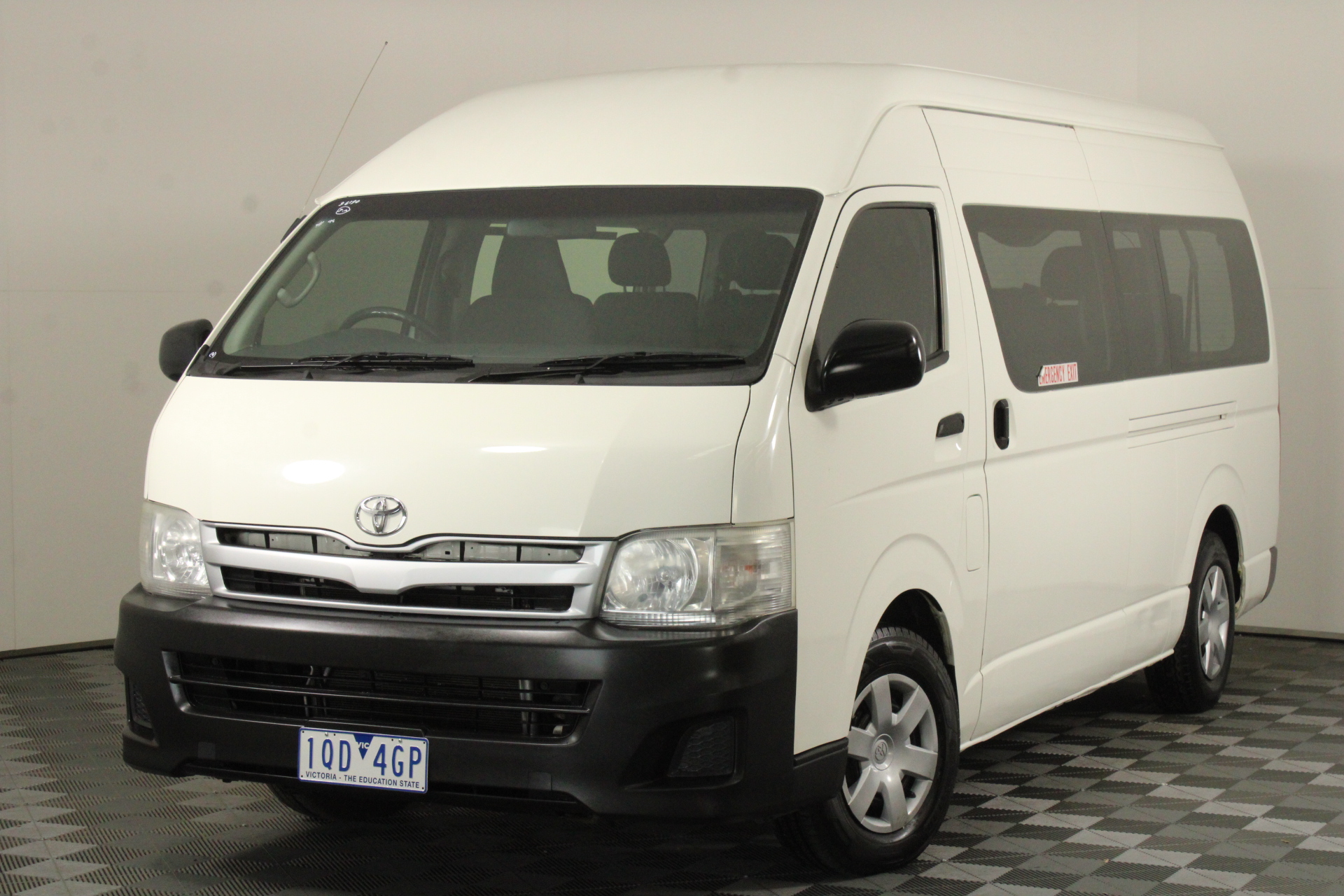 2012 Toyota Hiace Commuter KDH223R Turbo Diesel Manual 12 Seats Bus