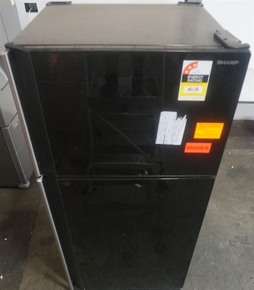 Sharp SJGJ584VBK 585L Top Mount Refrigerator with (Black)