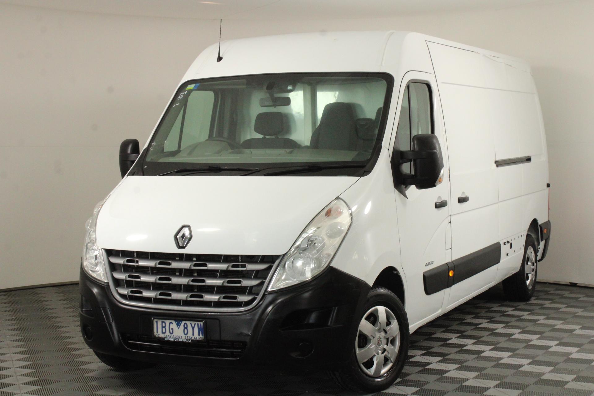 2014 Renault Master LWB Mid Roof Turbo Diesel Manual Freezer Van