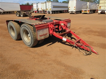 Dual Axle Dollies