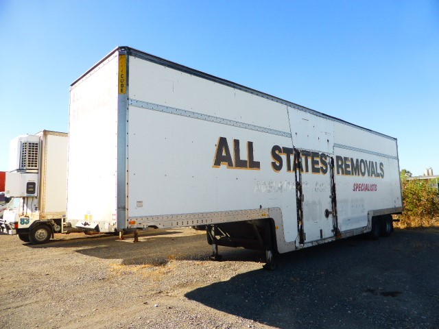 2001 Maxi Trans ST2 45' Tandem Drop Deck Enclosed Trailer (Pooraka, SA)