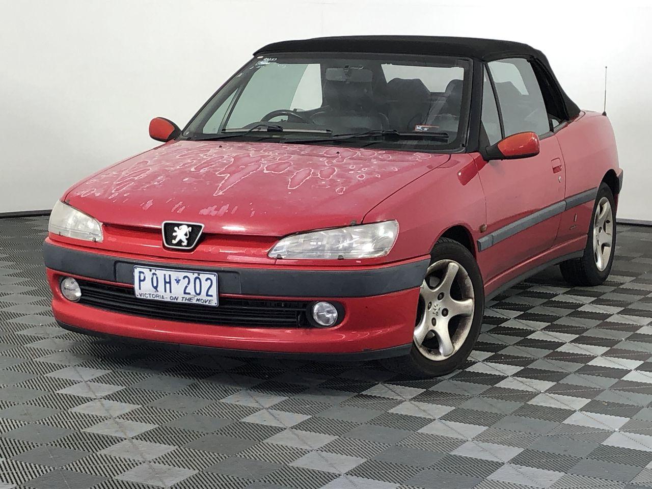 1999 Peugeot 306 N5 Manual Convertible