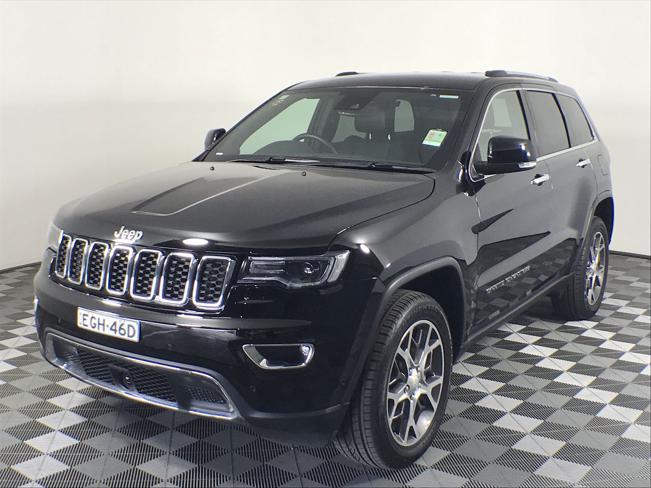 2019 Jeep Grand Cherokee Limited (4x4) WK Automatic - 8 Speed Wagon