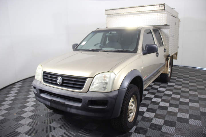 2003 Holden Rodeo LX (4x4) RA Turbo Diesel Automatic Dual Cab