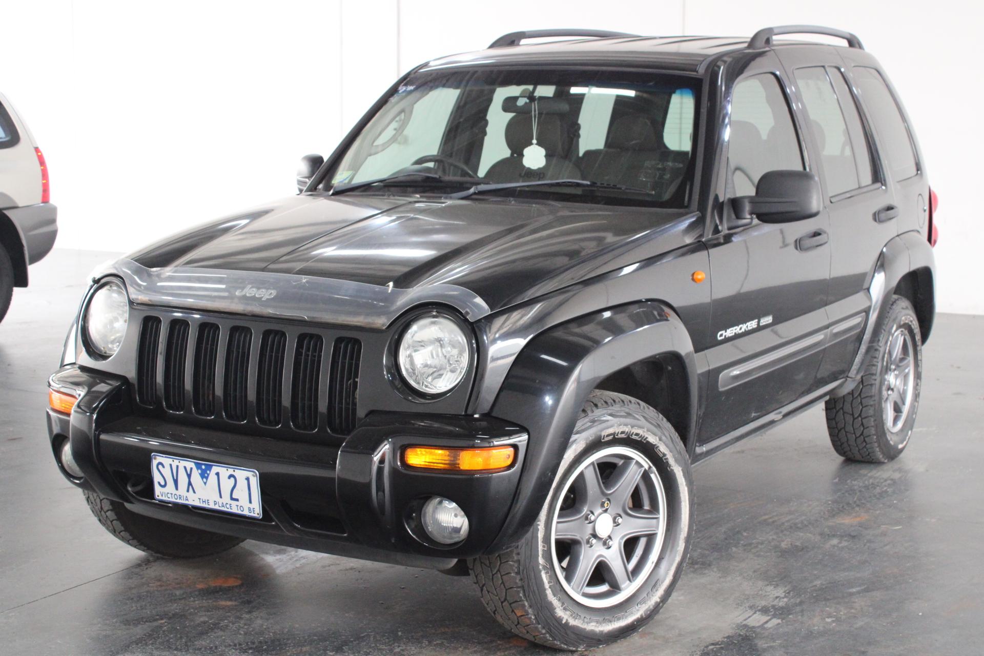 2004 Jeep Cherokee Sport (4x4) KJ Automatic Wagon
