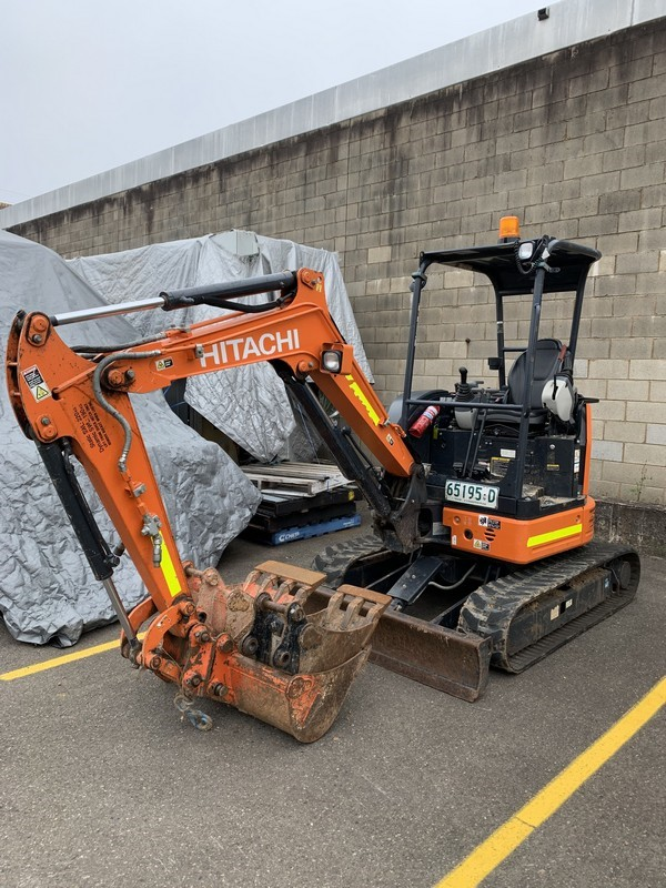 2017 Hitachi ZX26U-5A Excavator