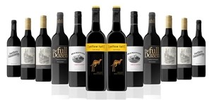 Australian Red Mixed Carton Featuring Yellowtail Shiraz (12x 750mL)